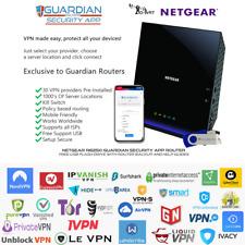 Netgear R6250 Guardian App VPN Router Nord IPVanish Express CyberGhost SurkShark