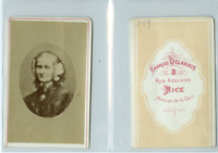C. Delahaye, Portrait d'une dame  CDV vintage albumen carte de visite,  T
