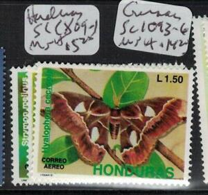 Honduras Butterfly SC C809-11, MNH (3efp)