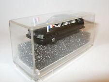 Citroen CX Noire Présidentielle Modele N°1 par Praliné au 1/86 1/87 HO + Boite