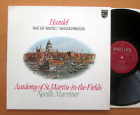 Philips 9500 691 Handel Water Music Neville Marriner ASMF 1980 Stereo NM/EX