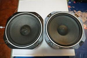 Pair of LEE Audio 300W0201 8 Ohm 150W Woofer Speaker Drivers TAIWAN