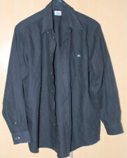 Echt LACOSTE Herren Trendy Schwarz Freizeithemd Jacke Hemd Sport Gr. Large
