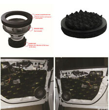 """4Pcs 6.5"""" Car Speaker Noise Insulation Cushion Pad Soundproof Black Foam Cotton"""