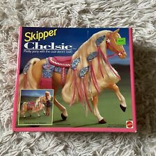 NEW COLLECTORS CHELSIE, SKIPPERS HORSE. (BARBIE COLLECTION) MATTEL #10081. 1992.