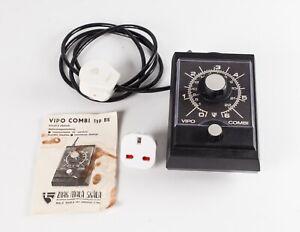 Meopta VIPO COMBI Type B6 Enlarger Timer.  Versatile Multi Range Analogue Timer.