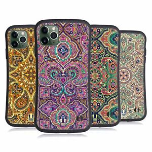 HEAD CASE INTRICATE PAISLEY HYBRID CASE & WALLPAPER FOR APPLE iPHONES PHONES