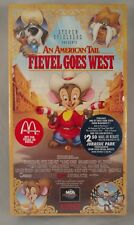 An American Tail - Fievel Goes West (VHS,) McDonald's promo