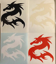 Chinese Dragon Sticker Vinyl Decal Tribal Your Choice Of Colour Buy 2 Get 1 Free