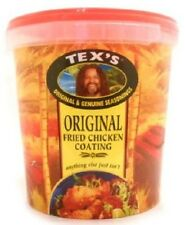 Large Tex's Original Fried Chicken Coating For Authentic Crispy Fried Chicken.