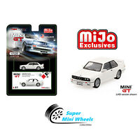 Mini GT BMW M3 E30 (White) LHD Limited Edition 1:64【In Stock】