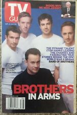 Band of Brothers, Johnny Carson - Tv Guide Magazine 2001