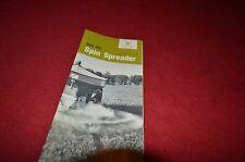 John Deere 301 Spin Spreader Dealer Brochure DCPA3
