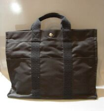 TIMELESS Hermes Gray Shopper Tote Bag