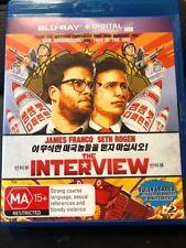 THE INTERVIEW - BLU-RAY REG-B (2015) James Franco Seth Rogan LIKE NEW FREE POST