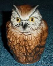 Brown Owl Goebel Bird Figurine Collectible Great Mother's Day Or Birthday Gift!