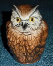 Brown Owl Goebel Bird Figurine Collectible Great Christmas Or Birthday Gift!