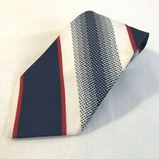 Vintage Andhurst Striped Polyester Clip On Neck Tie (T2)