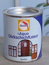 Glasurit Holzlasur Dickschichtlasur, Buche farben, 0,75 Liter Gebinde