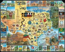 The Best of Texas 1000 Piece Jigsaw Puzzle 760mm x 610mm (wmp)