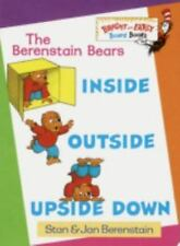 Inside, Outside, Upside Down by Jan & Stan Berenstain c1997 NEW Board Book
