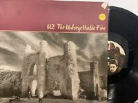 U2 ‎– The Unforgettable Fire LP 1984 Island – 206 530 VG+ European Press