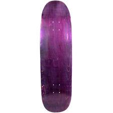 """Old School Skateboard Deck 8.75"""" x 32.1"""" Purple Blunt Nose Popsicle Shape"""