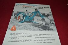 Fordson Major Tractor Sherman Backhoe Dealers Brochure YABE8
