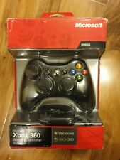 Microsoft Xbox 360 Wireless controller Windows boxed with driver & usb receiver