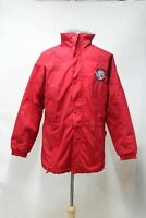 ANTARCTICA EXPEDITION GEAR Men's Red Nylon Zip Up Insulated Jacket M Chest 46""