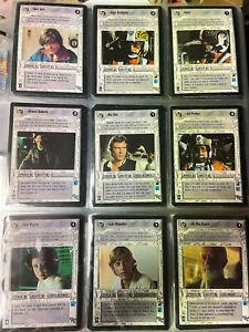 Decipher Star Wars CCG Premiere Complete Black Border Set