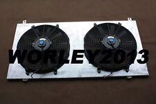 Aluminum Shroud + Fans for Nissan GU PATROL Y61 petrol 4.5L 1997-2001