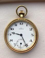 HELVETIA Pocket watch, Swiss Made, works