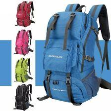 Waterproof External Frame Outdoor Climbing Camping Backpack Mountaineering Bag