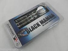 NEW ELKADART BLACK MAMBA SOFT TIP DARTS SET 18g 2BA SHAFTS FLIGHTS