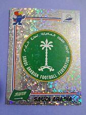 FIGURINA PANINI CALCIATORI FRANCE 98 SCUDETTO BADGE 193 SAUDI ARABIA STICKER FIO