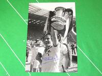 West Ham United Stuart Pearson Signed 1980 FA Cup Final Trophy Photograph