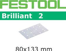 Festool Abrasive Sheet STF 80x133 P220 BR2/100 - 492855 FREE FIRST CLASS POST