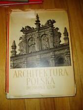 Large book on Polish Architecture Polska Architekura