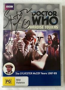 Doctor Who: Paradise Towers DVD - Hand Signed By Sylvester McCoy