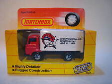 MATCHBOX SUPERFAST MB72 DODGE DELIVERY TRUCK - SHERATON REGAL USA 1989 - MIB.