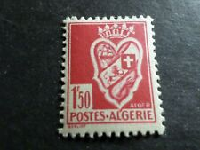 ALGERIE FRANCAISE 1942, timbre 178, ARMOIRIES neuf*, VF MH STAMP