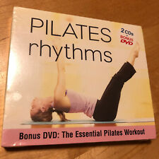 PILATES RHYTHMS 2 CD+ BONUS DVD THE ESSENTIAL WORKOUT MUSIC BRAND NEW & SEALED