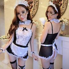 Women's Sexy Lingerie School Girl Uniform Cosplay Costume Fancy Dress Nightwear