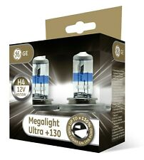 GE General Electric H4 MegaLight Ultra +130% mehr Licht 2er Set 50440XNU P43t