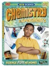 Kid Science CHEMISTRY EXPERIMENTS DVD    Learn about the elements    Brand New