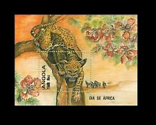 Angola 1993 - Africa Day - Leopard - Wildlife - S/S MNH