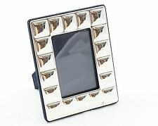 Cornice argento 925/1000 misura 6x9 disegno quadrati