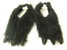 Monster patas con garras Negro Animal pies Hombre Lobo Halloween Talla Única