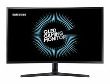 "SAMSUNG 27"" Curved QLED WQHD Computer Gaming Monitor 144Hz, 1ms, LC27HG70QQEXXY"